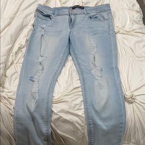 Express Supersoft Legging Jeans